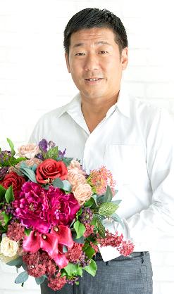 フラワーデザイナー細沼 光則 氏